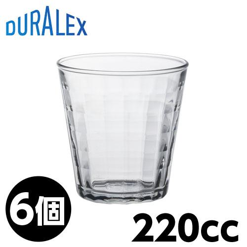 DURALEX デュラレックス プリズム 220cc 6個入