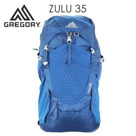 GREGORY グレゴリー ZULU35 ズール 35L M/L エンパイアブルー EMPIRE BLUE 1115837411 バックパック リュックサック『送料無料(一部地域除く)』