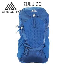 GREGORY グレゴリー ZULU30 ズール 30L M/L エンパイアブルー EMPIRE BLUE 1115807411 バックパック リュックサック『送料無料(一部地域除く)』