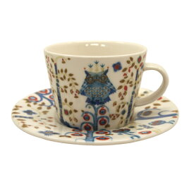イッタラ iittala タイカ TAIKA コーヒーカプチーノ カップ&ソーサー ホワイト