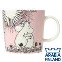 ARABIA アラビア Moomin ムーミン マグ ピンク 300ml Love マグカップ