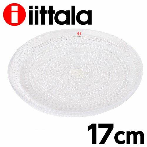 イッタラ iittala カステヘルミ KASTEHELMI プレート(皿) 17cm クリア