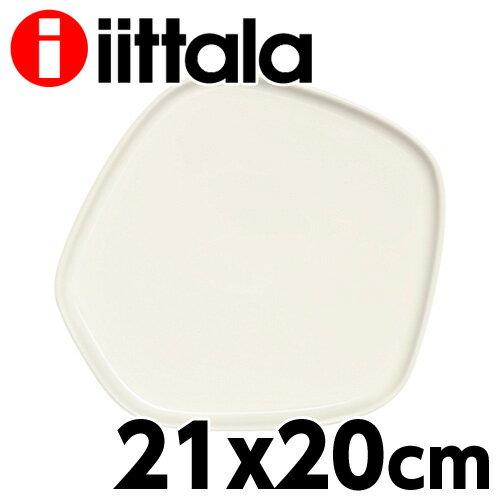 Iittala×Issey Miyake イッタラ イッセイミヤケプラター 21×20cm ホワイト