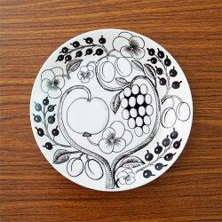 ArabiaアラビアブラックパラティッシParatiisiBlackプレート(皿)21cm2枚セット【送料無料(一部地域除く)】