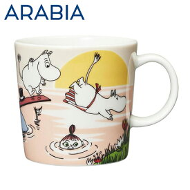 Arabia アラビア ムーミン マグ イブニングスウィム Evening swim 300ml マグカップ 2019年夏季限定