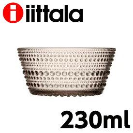iittala イッタラ Kastehelmi カステヘルミ ボウル 230ml リネン お皿 皿