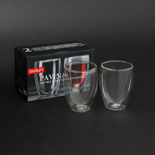 ボダム bodum PAVINA ダブルウォールグラス 350ml 2個セット 4559-10