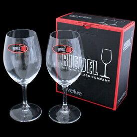 リーデル ワイングラス オヴァチュア 6408/00 レッドワイン 2個セット