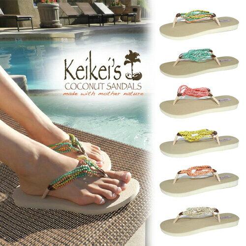 【売切れ御免】KeiKei's(ケイケイズ) Coconuts Loop Sandals(ココナッツループサンダル)