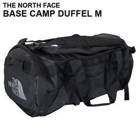 THE NORTH FACE ザ・ノースフェイス BASE CAMP DUFFEL M ベースキャンプ ダッフル 71L ブラック ボストンバッグ ダッフルバッグ バックパック『送料無料(一部地域除く)』