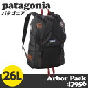 Patagonia パタゴニア 47956 アーバーパック 26L Arbor Pack ブラック 【送料無料(一部地域除く)】