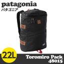 Patagonia パタゴニア 48015 トロミロパック 22L Toromiro Pack ブラック 【送料無料(一部地域除く)】