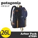 【100円OFFクーポン配布中★】Patagonia パタゴニア 47956 アーバーパック 26L Arbor Pack ネイビーブルー 【送料無料…
