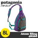 Patagonia パタゴニア 48260 アトムスリング 8L インクブラック Atom Sling 【送料無料(一部地域除く)】