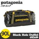 【100円OFFクーポン配布中★】Patagonia パタゴニア 49346 ブラックホールダッフル 90L フォージグレー Black Hole Duffel...