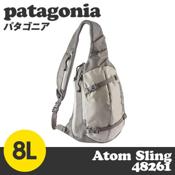 Patagonia パタゴニア 48261 アトムスリング 8L バーチホワイト Atom Sling Birch White BCW 【送料無料(一部地域除く)】
