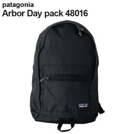 Patagonia パタゴニア 48016 アーバーデイパック 20L ブラック Arbor Day Pack 【送料無料(一部地域除く)】