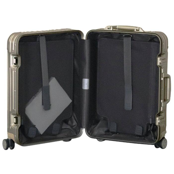 リモワRIMOWAオリジナルキャビン35LチタニウムORIGINALCabinスーツケース925.53.03.4【送料無料(一部地域除く)】