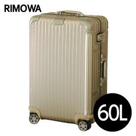 リモワ RIMOWA オリジナル チェックインM 60L チタニウム ORIGINAL Check-In M スーツケース 925.63.03.4 【送料無料(一部地域除く)】