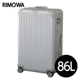 リモワ RIMOWA オリジナル チェックインL 86L シルバー ORIGINAL Check-In L スーツケース 925.73.00.4 【送料無料(一部地域除く)】