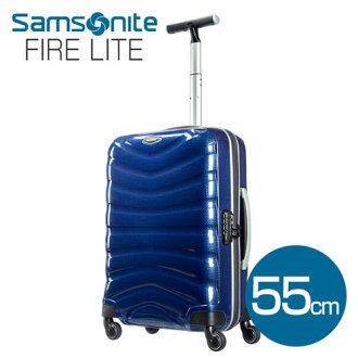 Suitcase Samsonite firelight (firelight) 55 cm deep blue Samsonite Firelite U72-001 35L