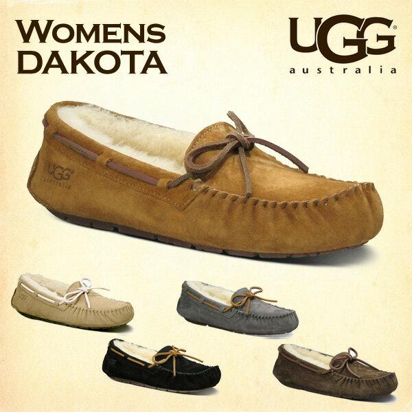 【売切れ御免】UGG アグ ダコタ ムートンシューズ モカシンシューズ 5612 ウィメンズ Dakota WOMENS レディース【送料無料(一部地域除く)】