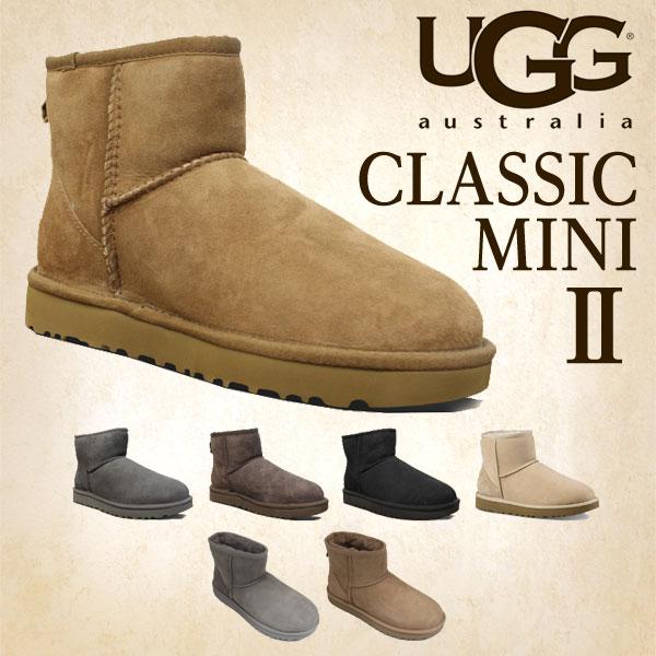 【売切れ御免】UGG アグ クラシックミニ II ムートンブーツ ウィメンズ1016222 Classic Mini WOMENS レディース ショートブーツ 【送料無料(一部地域除く)】