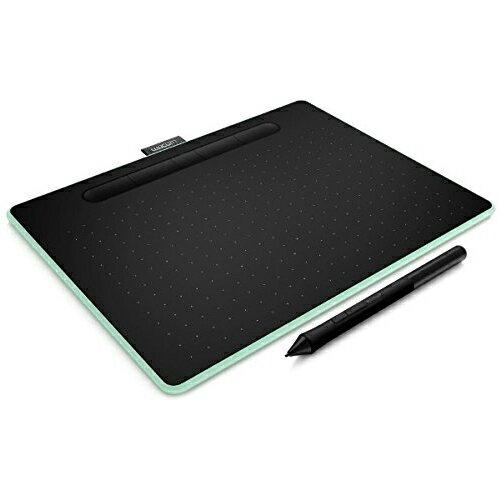 【取寄品】ワコム ペンタブレット Intuos Medium ワイヤレス ピスタチオグリーン CTL-6100WL/E0 ペンタブ 液晶ペンタブレット 【送料無料(一部地域除く)】