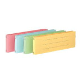 コクヨ 統一伝票用フラットファイル B4 1/3-E ピンク 10冊