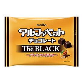 名糖 アルファベットチョコレート The Black 170g