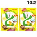 UHA味覚糖 おさつどきっ 塩バター 65g×10袋 ポテトチップス スナック菓子 お菓子 ポテチ スナック