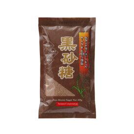 トマトコーポレーション 黒砂糖(粉状) フィリピン産 200g 甘味料 調味料 砂糖 サトウキビ 黒糖 さとう 糖分