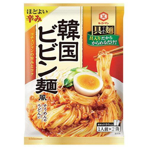 キッコーマン 具麺 韓国ビビン麺風