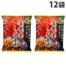 おやつカンパニー 和麺 ベビースターラーメン 唐辛子しょうゆ味 60g×12袋