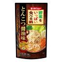 ダイショー 野菜をいっぱい食べる鍋スープ とんこつ醤油味 750g