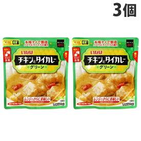 いなば食品 チキンとタイカレー グリーン 170g×3個