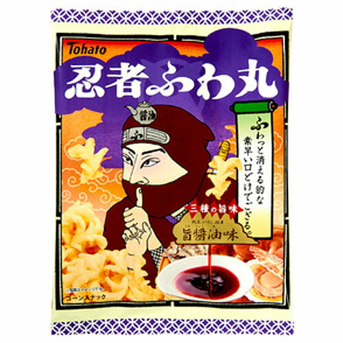 東ハト 忍者ふわ丸 旨醤油味 65g