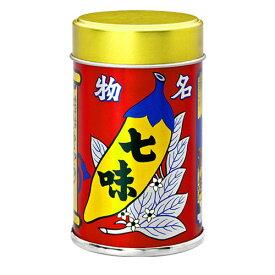 八幡屋磯五郎 七味唐からし 缶 14g