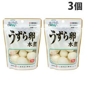 加藤産業 カンピー うずら卵水煮 7個入×3個
