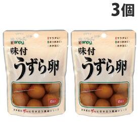 加藤産業 カンピー 味付うずら卵 6個入×3個