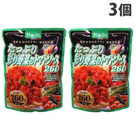 ハチ 彩り野菜のトマトソース 260g×3個