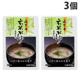 永平寺 玄米がゆ 250g×3個
