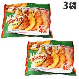 栗山 Fばかうけアソート 40枚×3袋