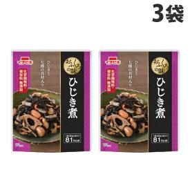 イチビキ おふくろの味 ひじき煮 80g×3袋