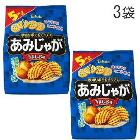 東ハト あみじゃが うましお味 5袋入×3袋