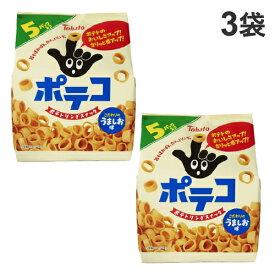 東ハト ポテコ うましお味 5袋入×3袋