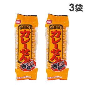 亀田製菓 亀田のカレーせん 18枚入×3袋