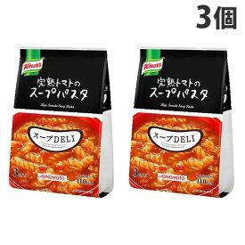 味の素 クノール スープDELI 完熟トマトのスープパスタ 3食入×3個