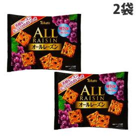 東ハト ファミリーサイズオールレーズン 24枚入×2袋 おやつ お菓子 ビスケット レーズンクッキー