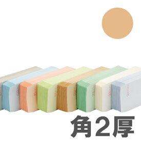 カラー封筒 Sカラー100g ベージュ 角2郵便枠無 500枚【送料無料(一部地域除く)】